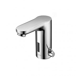 Schell Infrared Sensor Tap Electronic Bathroom Tap Hot & Cold Water w/ Transformer Plug