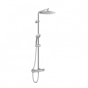 Ideal Standard Shower System With Thermostatic Mixer Head Shower 300mm A6246AA