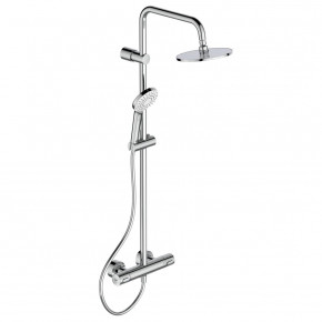 Ideal Standard Idealrain Soft Shower System W Exposed Thermostatic Mixer A6983AA