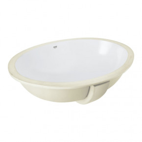 Grohe BAU CERAMIC Oval Built-In Undercounter Washbasin 550mm 39423000