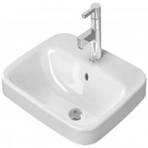 Duravit DuraStyle Undercounter Sink 56 For Single-hole Type Square 0374560000