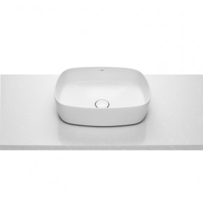 Roca Inspira Soft Countertop Bathroom Basin Without Overflow Fineceramic A327500000