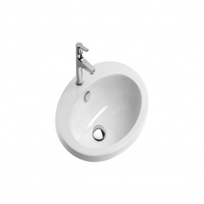 Catalano Fitted 61 Oval Undermount Sink Inset Cabinet Wash Basin CataGlaze 1JOIN00