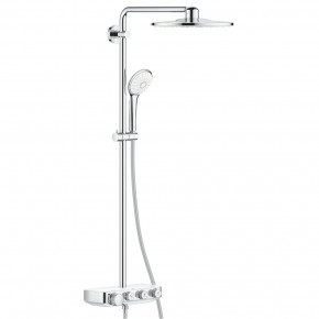 Grohe Euphoria Shower System With Thermostatic Mixer Modern Chrome Finish 26507LS0