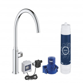 Grohe SIngle Lever Kit With Ultrasafe Filter For Bacteria Filtration 30388000