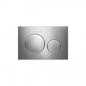 Geberit SIGMA 20 In-Wall Flushing Buttons WC Actuator Dual Flush Plate Chrome