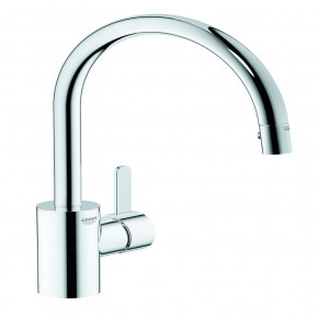 Grohe EUROSMART Cosmopolitan Kitchen Faucet Tall Mixer w/ Pull-Out Spout 31481000