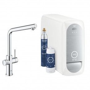 Grohe BLUE HOME DUO L High-Tech Kitchen Faucet Water Dispenser System 31454000