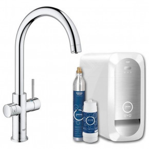 Grohe BLUE HOME DUO C High-Tech Kitchen Faucet Water Dispenser System 31455000