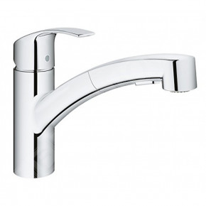 Grohe Eurosmart Kitchen Tap With Low Spout And Pull Out Spout 30305000