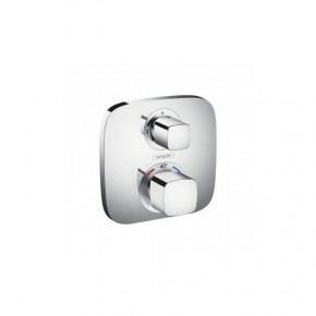 Hansgrohe Ecostat 15708000 Concealed Shower Thermostat for 2 Outlets w/ Diverter R