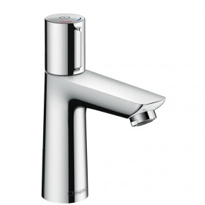 Hansgrohe TALIS Select E Modern Bathroom Tap Mixer S-size w/ Top Push Lever