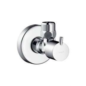 Hansgrohe S-Design Angle Valve 13901000 Escutcheon for Kitchen Faucets Waterflow Control