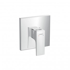 Hansgrohe Modern Square Shower Trim METROPOL In-Wall Shower Mixer 32565000
