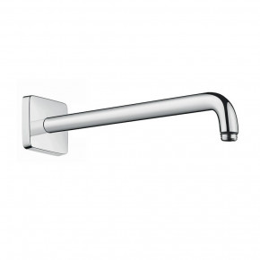 Hansgrohe Concealed Shower Arm Square Wall Plate 90-Degree Angle 27446000