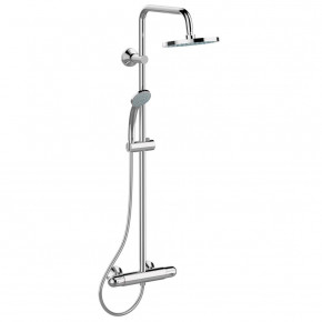 Ideal Standard Ceratherm 25 Shower System W Thermostat Wall Mounted A6421AA