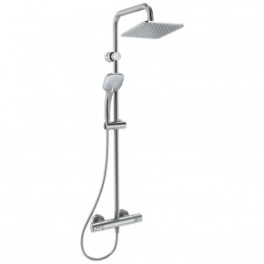 Ideal Standard Idealrain Cube Shower System With Thermostatic Mixer A5833AA