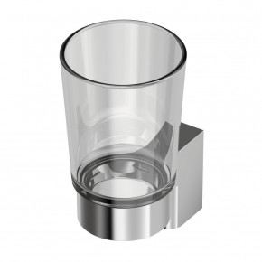 Ideal Standard Connect Bathroom Tumbler Wall-Mounted Toothbrush Holder Glass/Chrome A9156AA