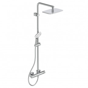 Ideal Standard Idealrain Luxe Thermostatic Shower System Square Head A6986AA