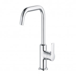 KLUDI PURE&EASY Tall Basin Mixer 205 Large Faicet Swivel Spout S-Pointer 370240565