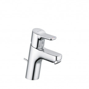 KLUDI PURE&EASY Basin Mixer 60 Small Tap w/ Metal Waste Set Chrome 373850565