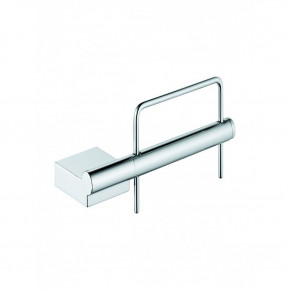 KLUDI A-XES Toilet Paper Roll Holder Wall-Mounted Premium Chrome 4897105