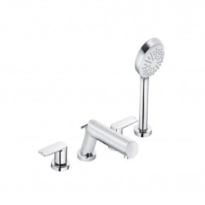 KLUDI Pure & Style Deck-mounted Bath Faucet Hand Shower Set 404250575