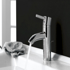 KLUDI BOZZ Basin Faucet Small Bathroom Tap with Waste Set 382910576