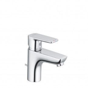 KLUDI Pure & Style Basin Mixer 60 Small Bathroom Tap with Waste Set 403850575