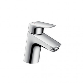 Hansgrohe 71070 LOGIS 70 Basin Mixer Compact Bathroom Tap w/ Pop-up Waste Single-Lever