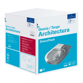 Villeroy & Boch OMNIA ARCHITECTURA Wall Hung Toilet w/ Soft Close Seat and Cover BOX SET
