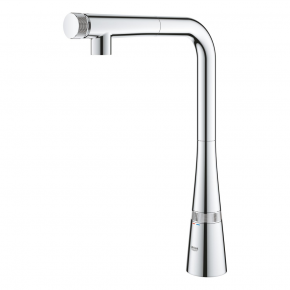 Grohe Zedra Kitchen Mixer With Large Pull Out Spout And Smart Control 31593002