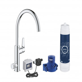 Grohe Blue SIngle Lever Mixer With Separate Handle For Filtered Water 30386000