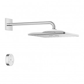 Grohe Shower Set  With Remote Control Cubic Rain Shower Chrome 26642000