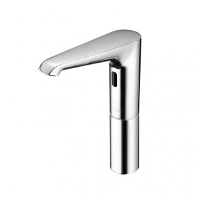 Schell Tall Infrared Sensor Tap Electronic Bathroom Pillar Tap for Cold Water 012950699