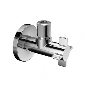 SCHELL 4WING Designer Angle Stop Valve 1/2 x 3/8 for Bathrooms and Kitchens