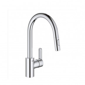 Grohe Eurostyle SIngle Lever Kitchen Tap Tubular High Spout Pull Out 31482003