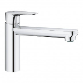 Grohe Bau Curve Single Lever Kitchen Tap With Medium Spout Swiveling 31715000