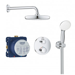 Grohe Thermostatic Shower System Grohtherm THM In-Wall 34727000
