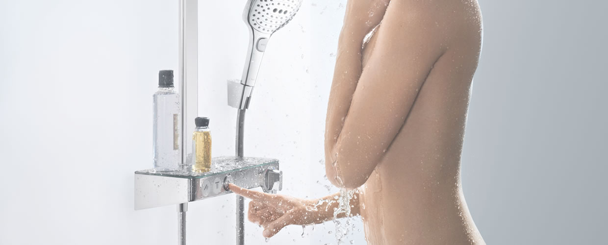 Hansgrohe designer showers and shower set special promo prices!