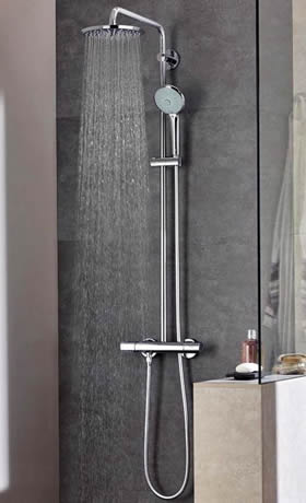modern and smart shower systems to enhance your experience with water