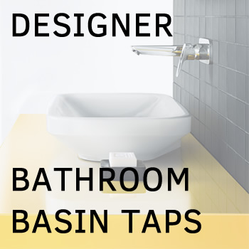 Designer bathroom taps and modern bathroom faucets from top brands